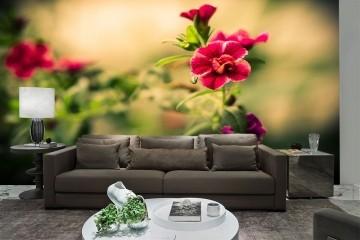 Papel De Parede 3D   Flores 0026 - papel de parede de flores
