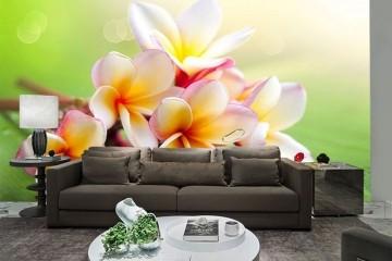 Papel De Parede 3D | Flores 0029 - papel de parede flores