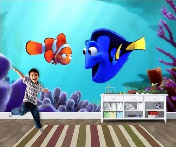 Papel de Parede 3D Nemo 0009 - Adesivos de Parede