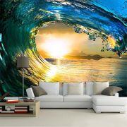 Papel De Parede 3D | Oceanos 0002 - papel de parede paisagem