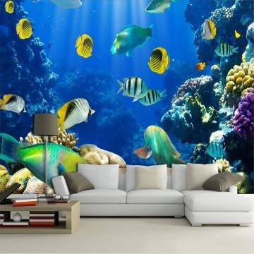 Papel De Parede 3D | Oceanos 0009 - papel de parede paisagem