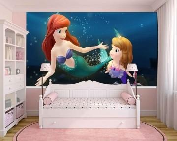 Papel De Parede 3D | Papel de Parede Infantil Ariel 0014 - Sobmedida: m²