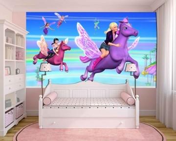 Papel De Parede 3D | Papel de Parede Infantil Barbie 0002 - Sobmedida: m²
