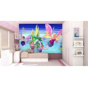 Papel De Parede 3D | Papel de Parede Infantil Barbie 0007 - Sobmedida: m²