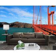 Papel De Parede 3D Pontes 0020 - papel de parede paisagem