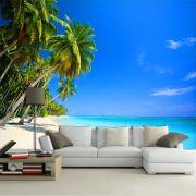 Papel de Parede 3D Praias 0006 - Adesivo Paisagem