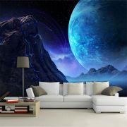 Papel De Parede 3D Universo 0016 - papel de parede paisagem
