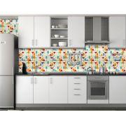 Papel de Parede Cozinha 0001 - Adesivos de Parede