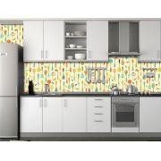 Papel de Parede Cozinha 0002 - Adesivos de Parede