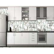 Papel de Parede Cozinha 0004 - Adesivos de Parede