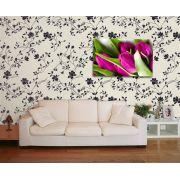 Papel de Parede Floral 0004 - Adesivos de Parede