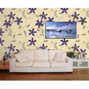 Papel de Parede Floral 0018 - Adesivos de Parede