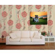 Papel de Parede Floral 0023 - Adesivos de Parede