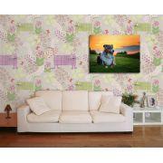 Papel de Parede Floral 0026 - Adesivos de Parede