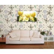 Papel de Parede Floral 0032 - Adesivos de Parede