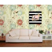 Papel de Parede Floral 0036 - Adesivos de Parede