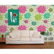 Papel de Parede Floral 0043 - Adesivos de Parede