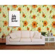 Papel de Parede Floral 0044 - Adesivos de Parede