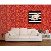 Papel de Parede Floral 0045 - Adesivos de Parede