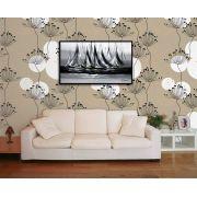 Papel de Parede Floral 0053 - Adesivos de Parede