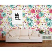 Papel de Parede Floral 0059 - Adesivos de Parede