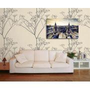 Papel de Parede Floral 0066 - Adesivos de Parede