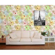 Papel de Parede Floral 0069 - Adesivos de Parede