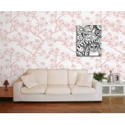 Papel de Parede Floral 0072 - Adesivos de Parede