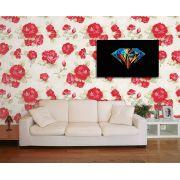 Papel de Parede Floral 0074 - Adesivos de Parede