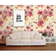 Papel de Parede Floral 0078 - Adesivos de Parede
