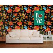 Papel de Parede Floral 0082 - Adesivos de Parede