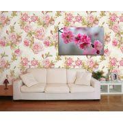 Papel de Parede Floral 0091 - Adesivos de Parede