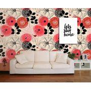 Papel de Parede Floral 0101 - Adesivos de Parede