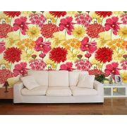 Papel de Parede Floral 0109 - Adesivos de Parede
