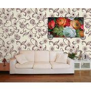 Papel de Parede Floral 0115 - Adesivos de Parede