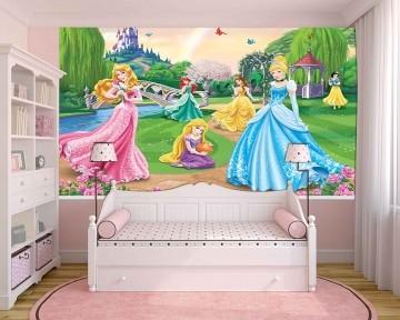 Papel de Parede Infantil Ariel 0003 - papel de parede para quarto