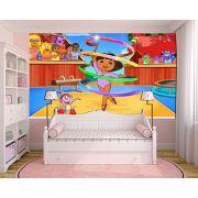 Papel de Parede Infantil Dora Aventureira 0001