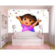 Papel de Parede Infantil Dora Aventureira 0003