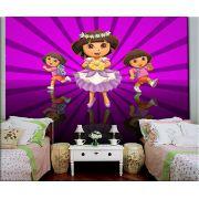 Papel de Parede Infantil Dora Aventureira 0008