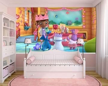 Papel de Parede Infantil Dra Brinquedo 0005