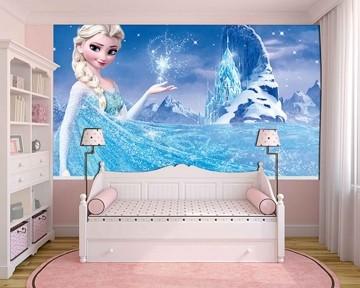 Papel de Parede Infantil Frozen 0004 - Papel de Parede para Quarto
