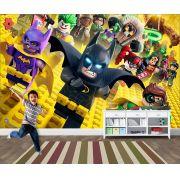 Papel de Parede Infantil Heróis lego 0004