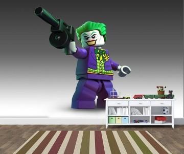 Papel de Parede Infantil Heróis lego 0008
