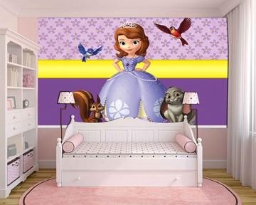 Papel de Parede Infantil Princesa Sofia  0003