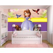 Papel de Parede Infantil Princesa Sofia  0005