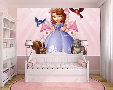 Papel de Parede Infantil Princesa Sofia  0007