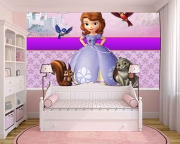 Papel de Parede Infantil Princesa Sofia  0011