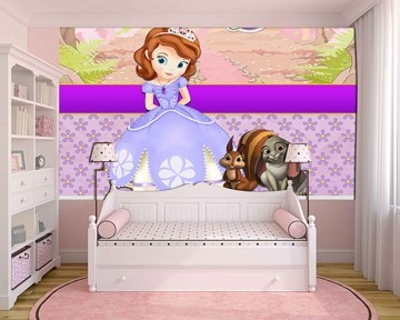 Papel de Parede Infantil Princesa Sofia  0013