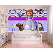 Papel de Parede Infantil Princesa Sofia  0019