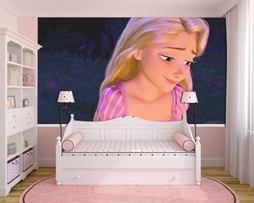 Papel de Parede Infantil Rapunzel  0006